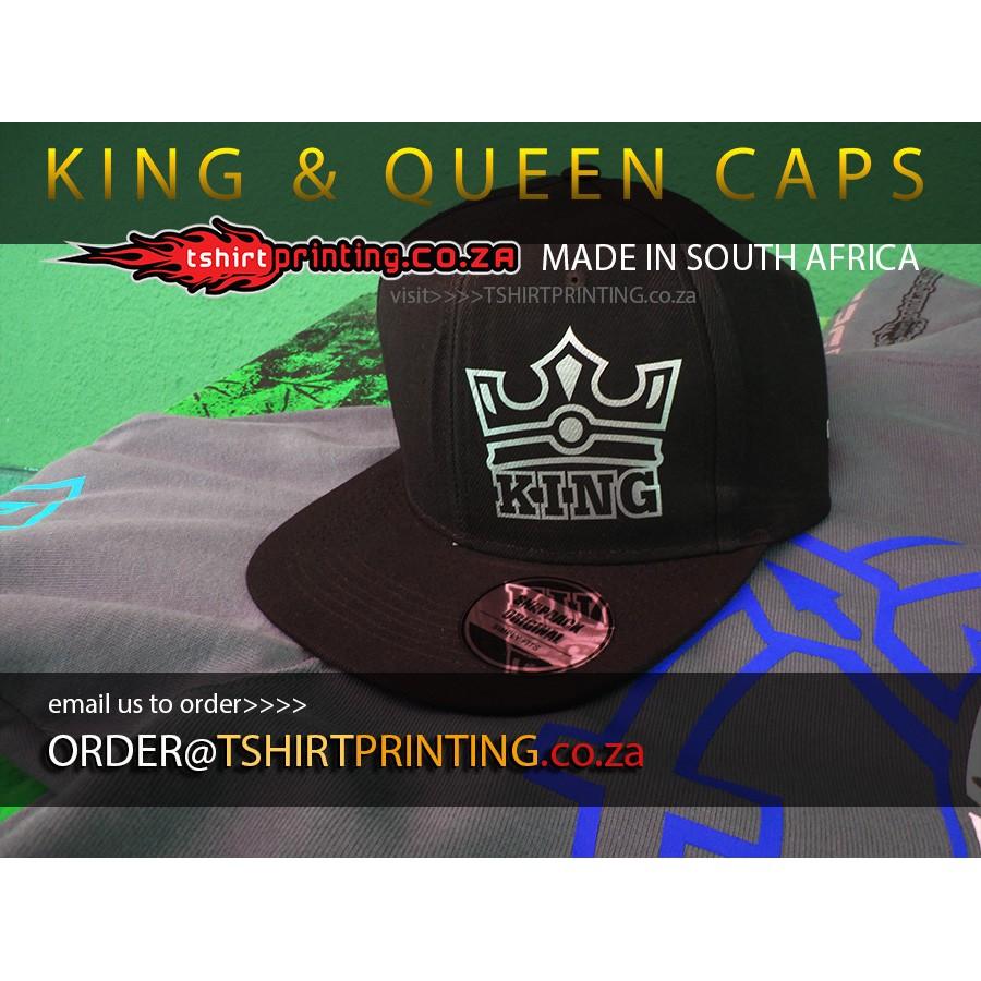 king queen cap