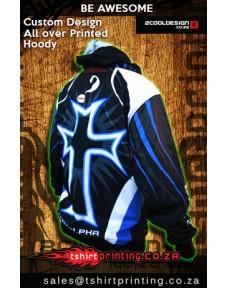 All over printed Hoodies Custom