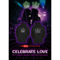 KING&QUEEN COUPLE 2X Hoodie 1xKING + 1xQUEEN HOODIES > Bundle