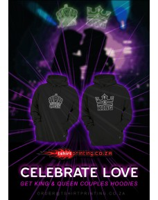 KING & QUEEN HOODIES bundle buy both