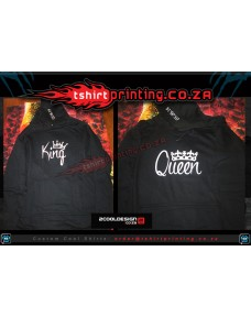 **COUPLES GIFT SPECIAL** KING&QUEEN COUPLE 2X Hoodie 1xKING + 1xQUEEN HOODIES > Bundle 2