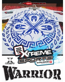 **ONE OFF** Warrior Gym Wear Sports T-shirt All Over Print