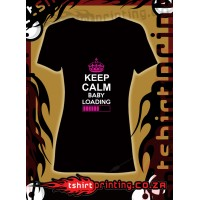 Keep Calm Baby loading t-shirt