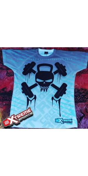 **ONLY 2 AVL** Cross Fit ALL OVER PRINT T-shirt For the Man