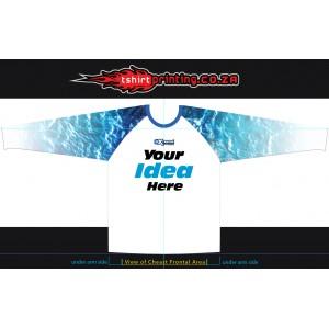 Custom Design fishing shirt + SETUP of Design