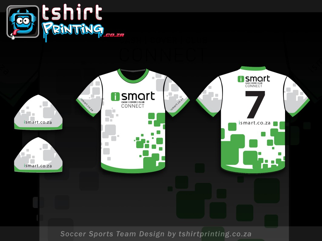 soccer sports team all over print sublimation tshirt design