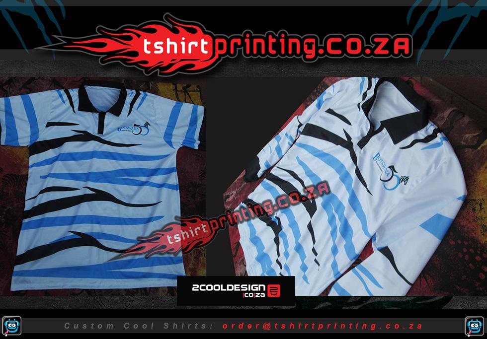 golfer shirt all over print option