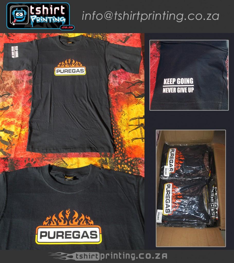 Tshirt in box, ready for shipment,final printed tshirts, sleeve print