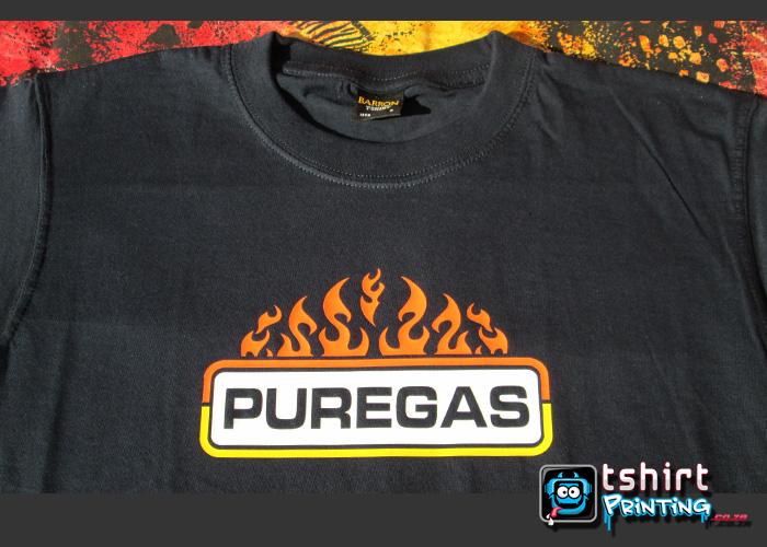 navy tshirt supplier, navy tshirt, printed navy tshirt,logo with flames,high-quality-promo-tshirt-printed
