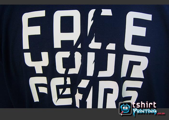 vinyl tshirt printed