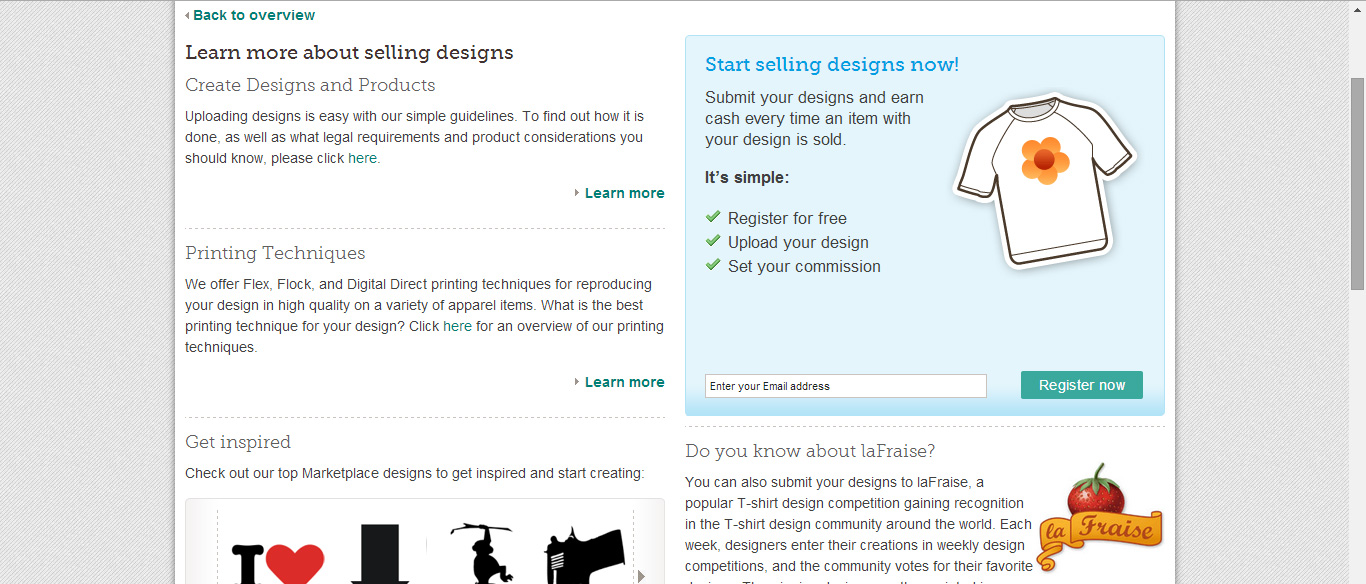 Sell Your Own Tshirt Designs Spreadshirt T Shirt Printing Solutions