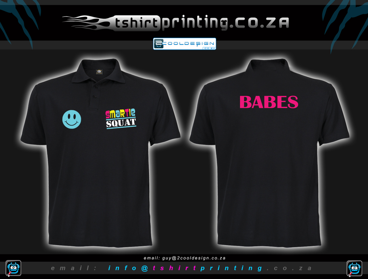 Custom Golf Shirt Printing South Africa Mock Up Design T Shirt