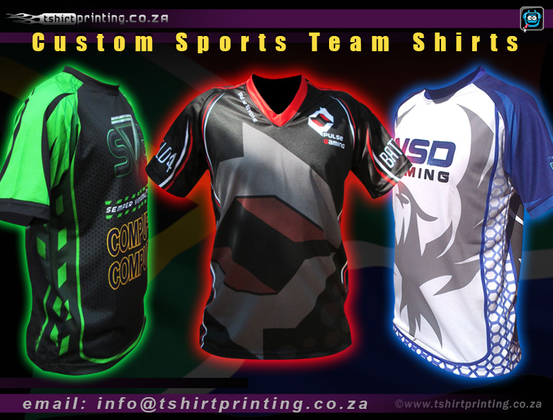 sports team tshirt printing and design - Team T Shirt Design Ideas