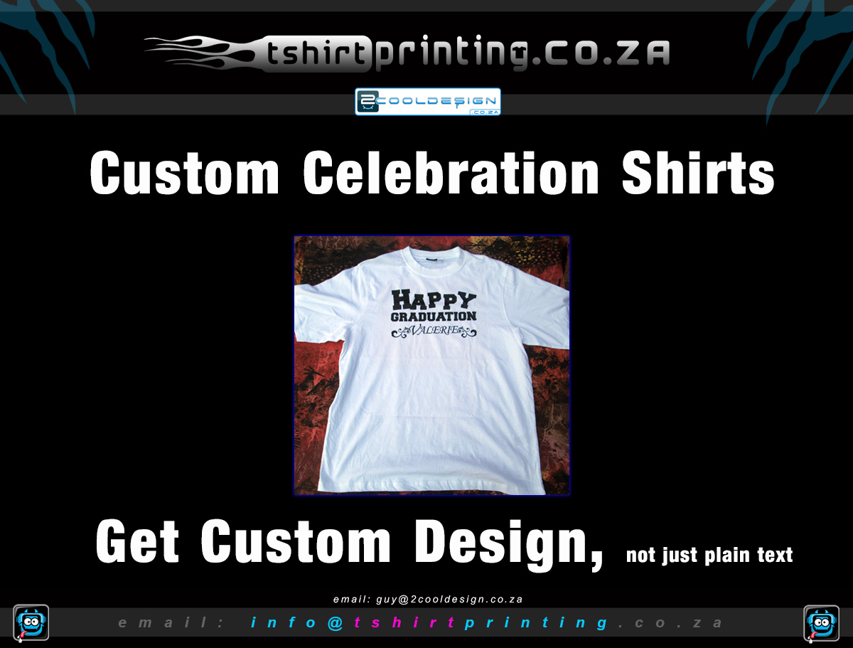 Celebration tshirt happy graduation shirt printing t for Kinkos t shirt printing