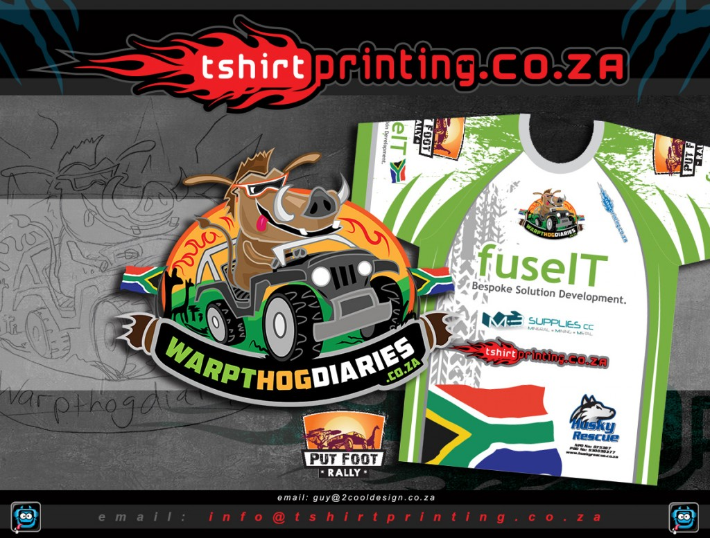 T shirt design za
