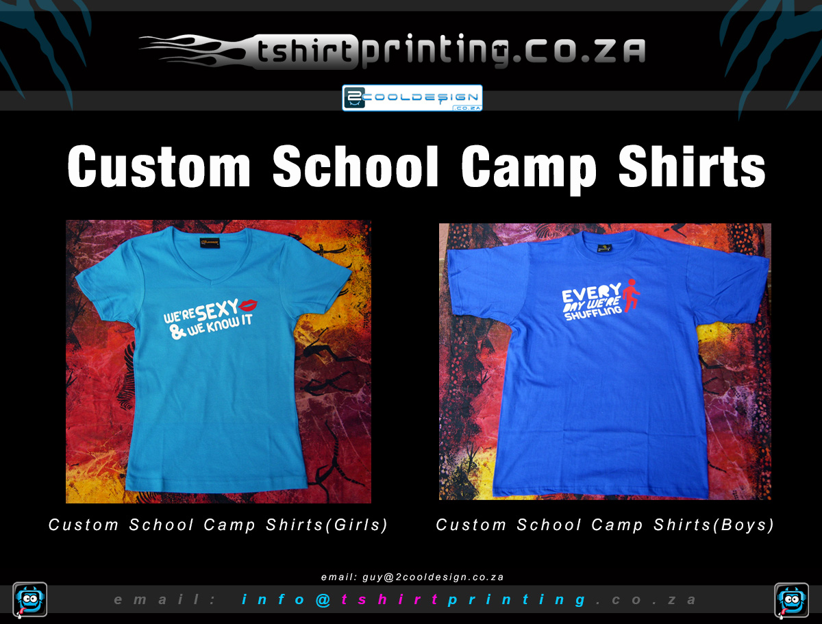 Custom school camp shirts t shirt printing solutions for Custom school t shirts