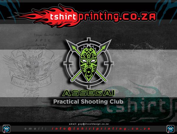 shooting-club-african-mask-logo-idea-design-2cooldesign-tshirtprint