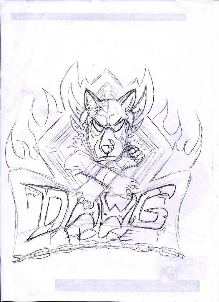 sketch-mockup-dawg-house-MMA-logo-Design