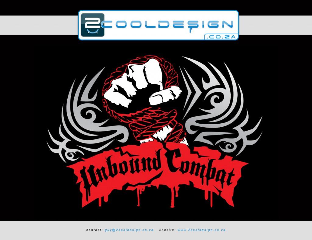 minimal-colour-tshirt-design-unbound-combat-by-Guy-Tasker-2cooldesign.co.za