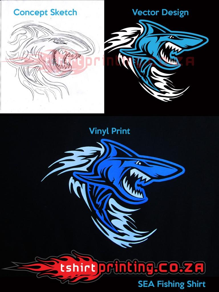 vinyl-printed-Shark-design-fishing-shirt