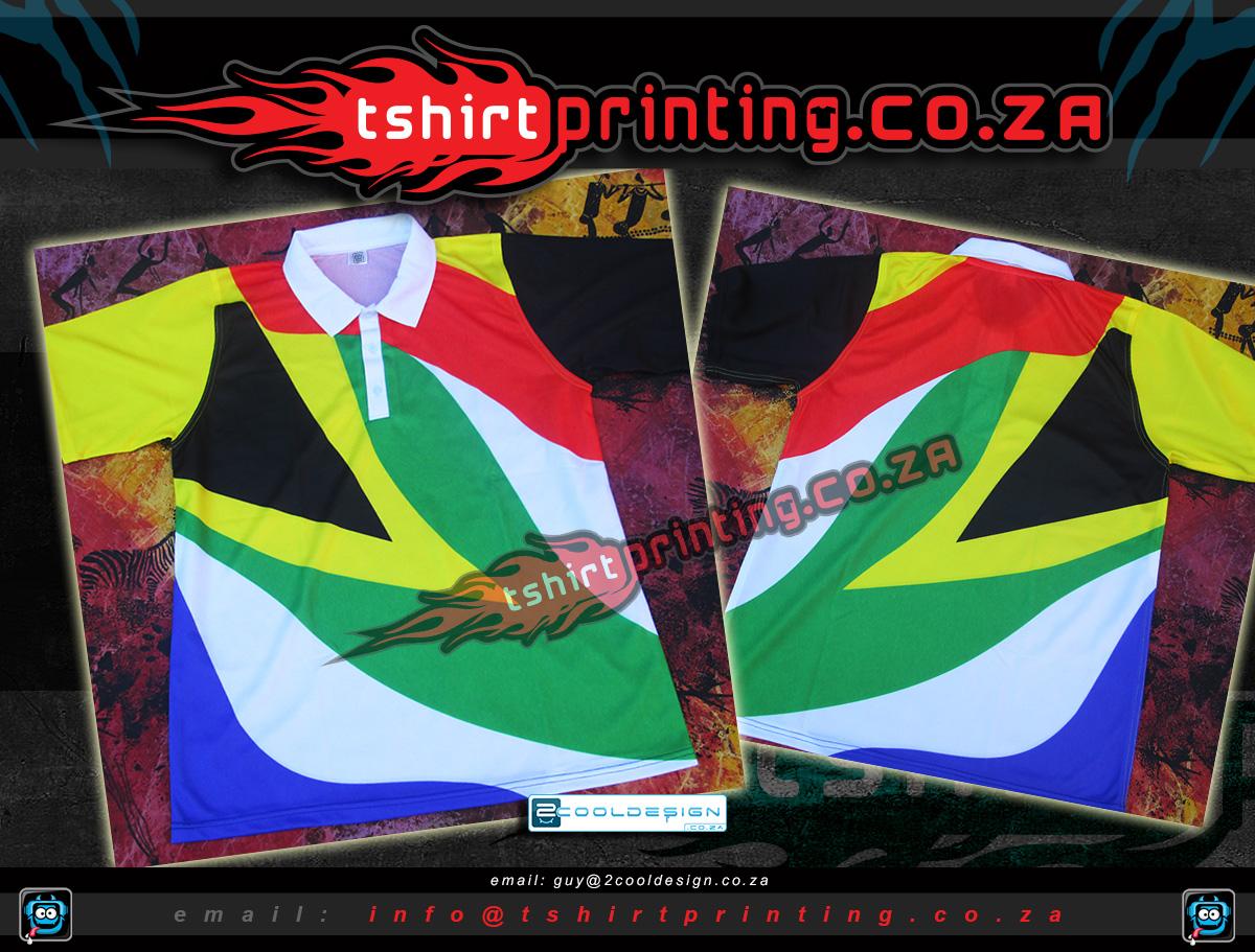 T shirt design za - South African Sa Flag Shirts By Tshirtprinting Co Za