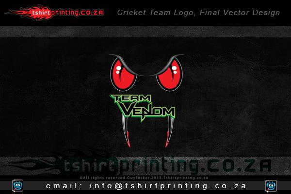 cricket-team-logo-design-for-team-venom-shirts