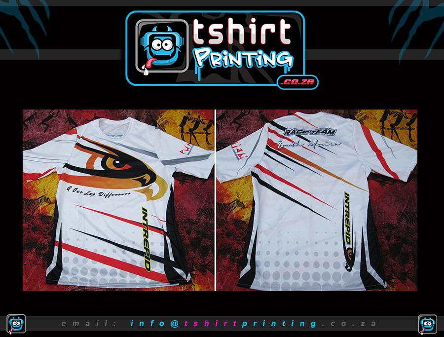 Motor sports shirts for Company t shirt printing