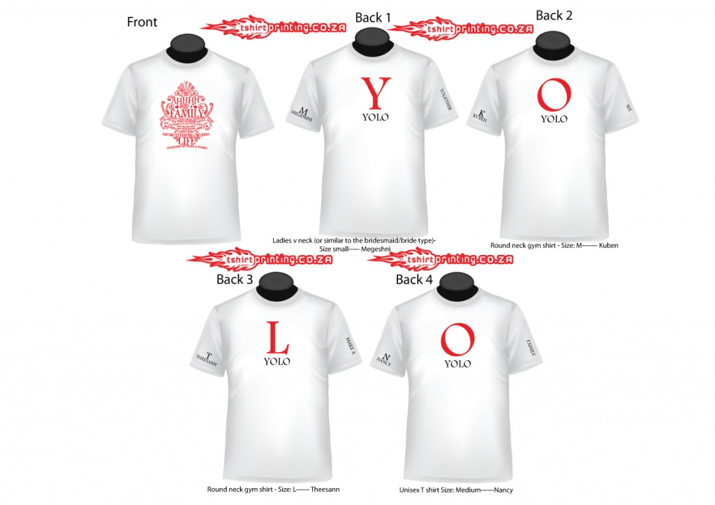 Yolo Shirt Design