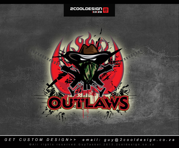out-law-gaming logo design