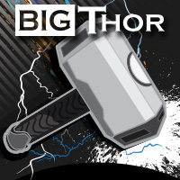Big Thor shirt cricket team logo by tshirtprinting.co.za