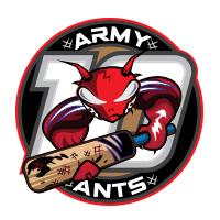 army ants cricket team logo by tshirtprinting.co.za