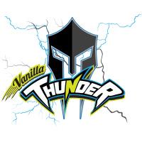 Vanilla Thunder cricket team logo by tshirtprinting.co.za