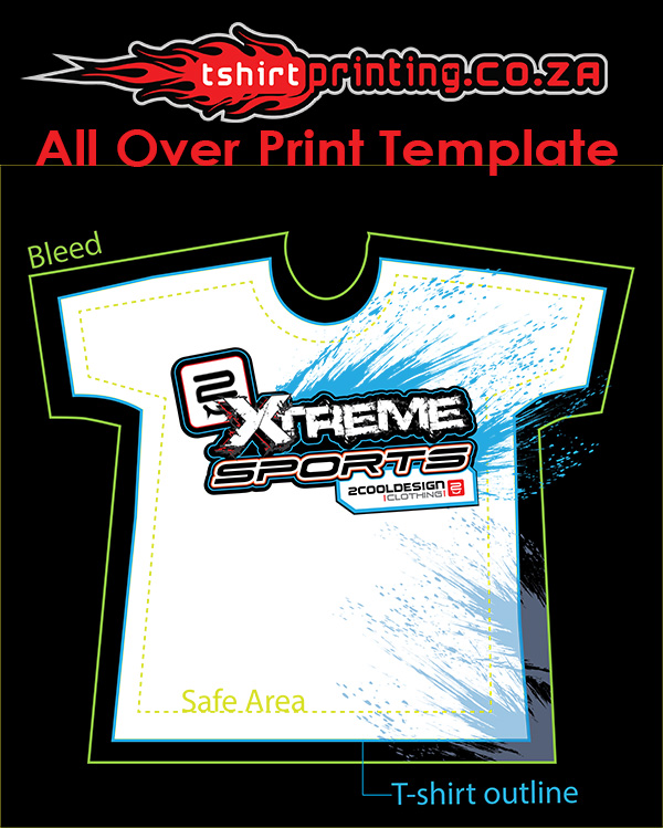 All Over Print T Shirt Templates T Shirt Printing Solutions
