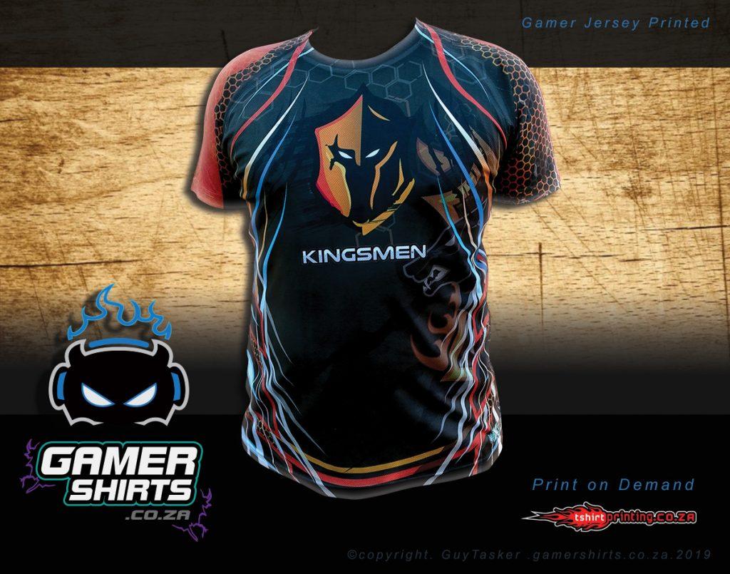 gamer-shirt-design-poster-template