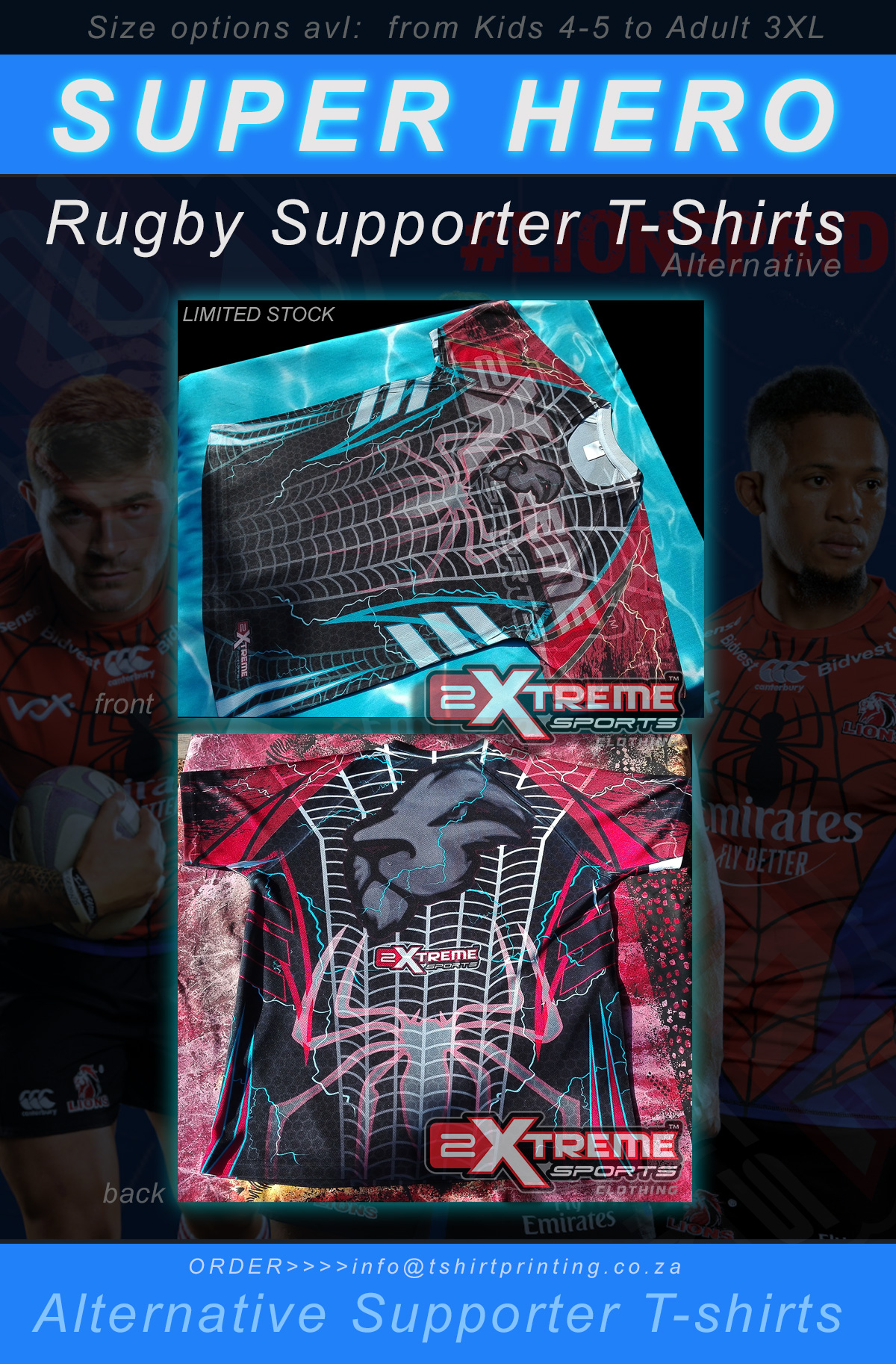 lions-spiderman-supporter-t-shirt