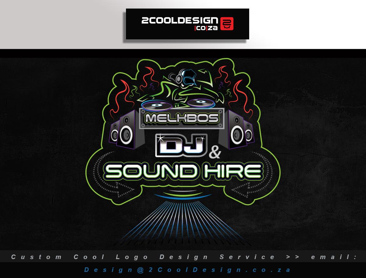 cool dj logo